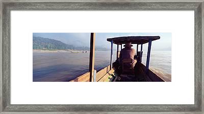 Mekong River, Luang Prabang, Laos Framed Print by Panoramic Images