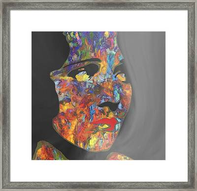 Melancholy Madam Framed Print by Dan Sproul