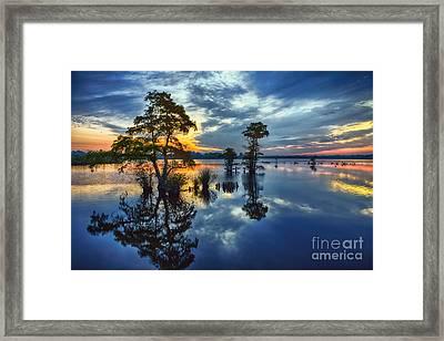 Mellow Morning Sunrise Framed Print by Dan Carmichael