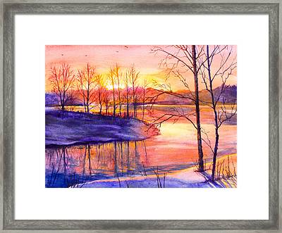 Mellow Framed Print by Patricia Allingham Carlson