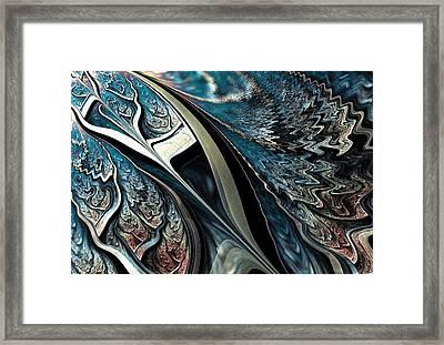 Melting Point Framed Print by Anastasiya Malakhova