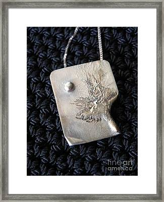 Melting Silver Framed Print by Patricia  Tierney