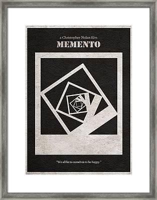 Memento Framed Print by Ayse Deniz
