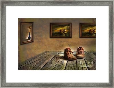 Mementos Exhibition Framed Print by Veikko Suikkanen