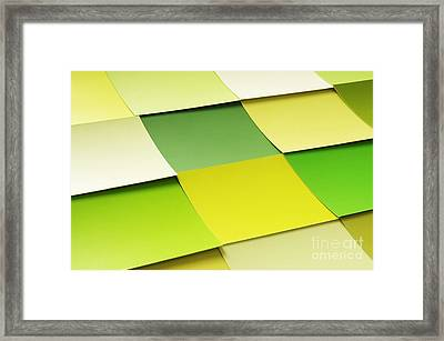 Memo Stickers Framed Print by Carlos Caetano