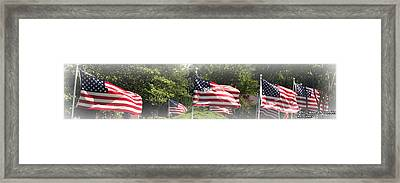 Memorial Day Framed Print by James Barrere