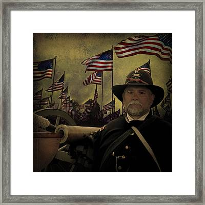 Memorial Day - Remembering The Fallen Framed Print by Jeff Burgess
