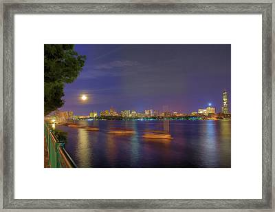 Memorial Drive - Cambridge Framed Print by Joann Vitali