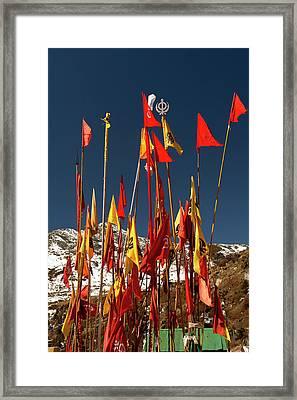 Memorial Of Baba Harbhajn Singh Framed Print by Jaina Mishra