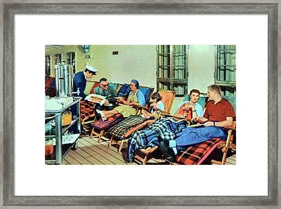 Memories Framed Print by Gustave Kurz
