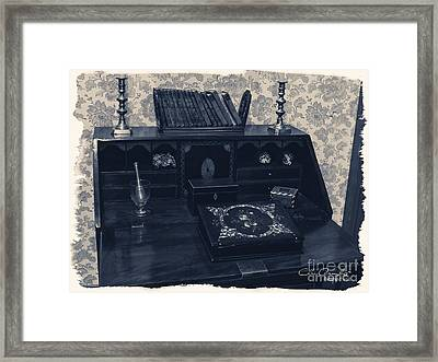Memories Of A Lady ... Framed Print by Chris Armytage