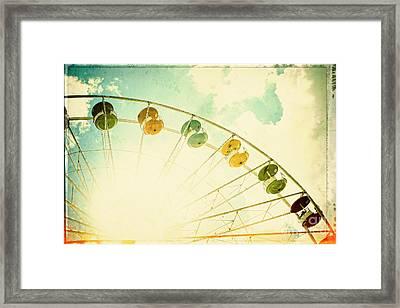 Carnival - Memories Of Summer Framed Print by Colleen Kammerer
