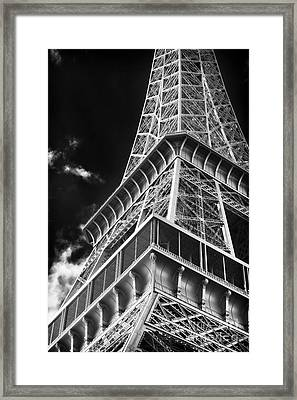 Memories Of The Eiffel Tower Framed Print by John Rizzuto