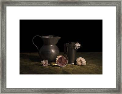 Memories Of The Past Framed Print by Raffaella Lunelli