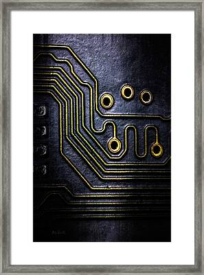 Memory Chip Number Two Framed Print by Bob Orsillo