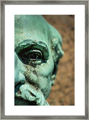Memphis Elmwood Cemetery Monument - The Governor Framed Print by Jon Woodhams