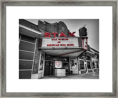 Memphis - Stax Records 001 Ck Framed Print by Lance Vaughn