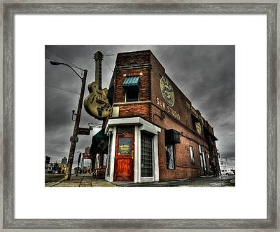Memphis - Sun Studio 002 Framed Print by Lance Vaughn