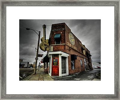 Memphis - Sun Studio 004 Framed Print by Lance Vaughn