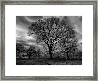 Memphis Winter On The Mississipi 001 Framed Print by Lance Vaughn