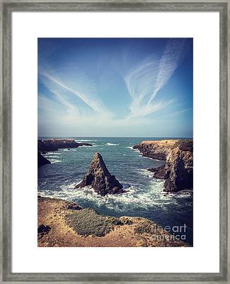 Mendocino Framed Print by Colin and Linda McKie