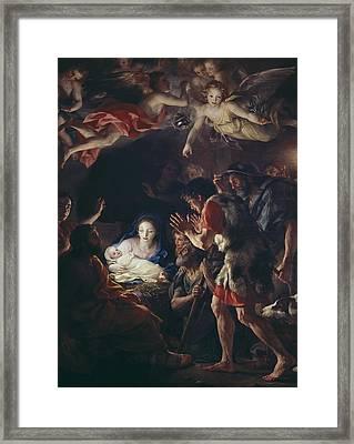 Mengs, Anton Raphael 1728-1779. The Framed Print by Everett