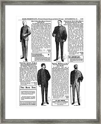 Menswear, 1902 Framed Print by Granger