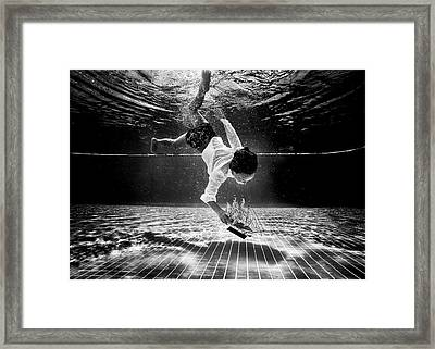 Underwater Diva Framed Print featuring the photograph Mercan by Murat Aslankara