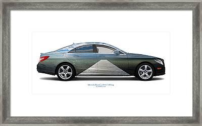 Mercedes-benz Cls550 Trelleborg Framed Print by Jan Faul