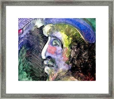Merchant Of Genoa Framed Print by Aquira Kusume