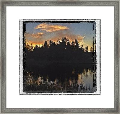 Merchant's Cove Isle Au Haut Maine Framed Print by Mary Fennell