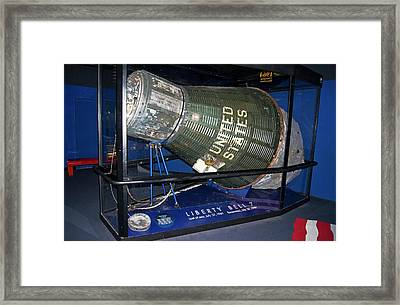 Mercury Capsule. Framed Print by Mark Williamson