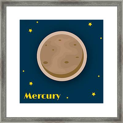 Mercury Framed Print by Christy Beckwith