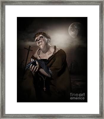 Mercy Framed Print by Shanina Conway