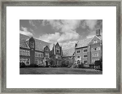 Mercyhurst University Old Main Framed Print by University Icons