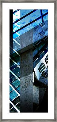 Merged - Tower Blues Framed Print by Jon Berry