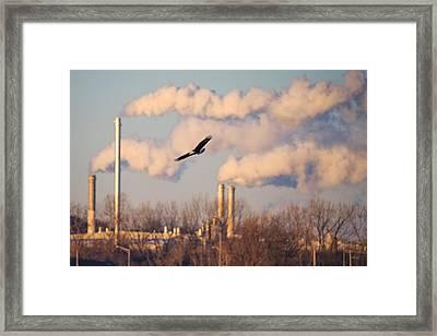 Merging Worlds Framed Print by Everet Regal