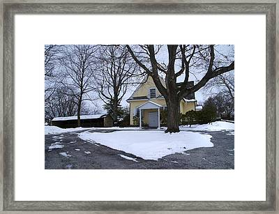 Merion Meeting House - Narberth Pa Framed Print by Bill Cannon
