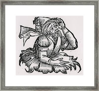 Merlin Framed Print by Unknown