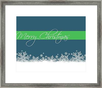 Merry Christmas Framed Print by Cathie Tyler