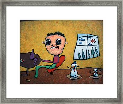 Merry Christmas Framed Print by James W Johnson