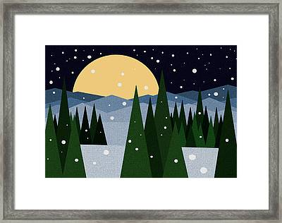 Merry Christmas Framed Print by Val Arie