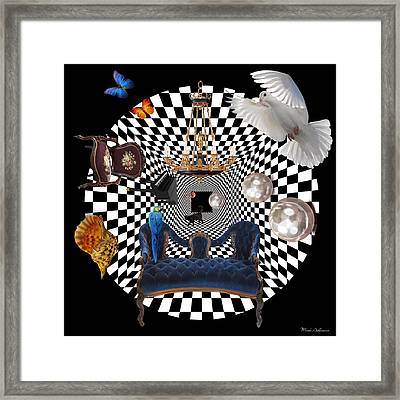 Mess In Wonderland  Framed Print by Mark Ashkenazi