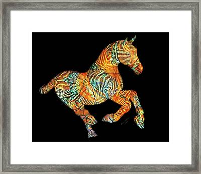 Messenger Framed Print by Betsy Knapp