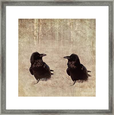 Messenger Framed Print by Priska Wettstein