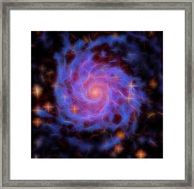 Messier 74 Framed Print by Dan Sproul