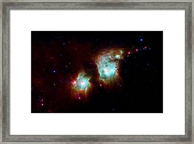 Messier 78 Star Formation Framed Print by The  Vault - Jennifer Rondinelli Reilly