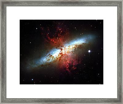 Messier 82 Framed Print by Ricky Barnard