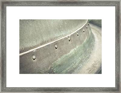 Metal Container Framed Print by Tom Gowanlock