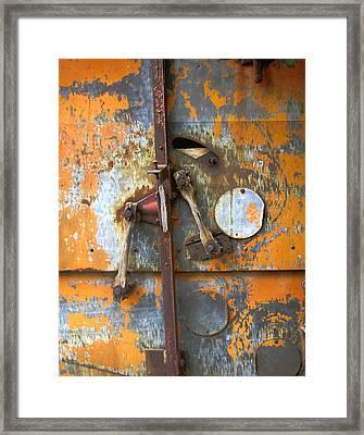 Metal II Framed Print by Ann Powell